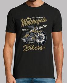 t-shirt bikers 1981 motorcycle custom