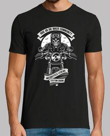 t-shirt bikers custom motorcycle skull
