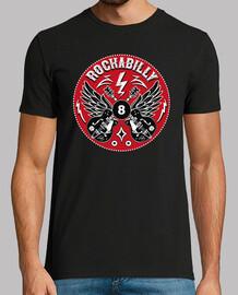 t-shirt bikers rockabilly vintage rock e roll rockers chitarre