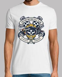 t-shirt bikers stile di vita vintage vintage