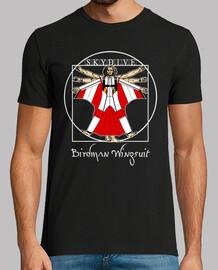 t-shirt birdman wingsuit mod.4
