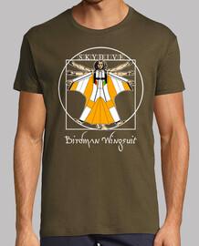 t-shirt birdman wingsuit mod.6