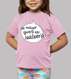 t-shirt bocaadillo figlio di mayor voglia di essere salsera