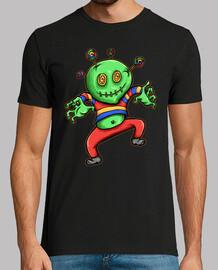 t-shirt bonbons garçon monstre horreur halloween