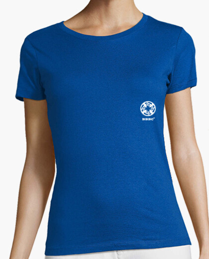 T-shirt brave ciclisti bicycle logo del club 0.1 donna