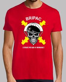 t-shirt bripac. succeed or die mod.2