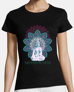 t-shirt buddha di consapevolezza