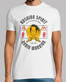 t-shirt bushido warrior japanese samurais