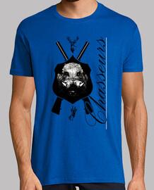 t-shirt cacciatori appassionati