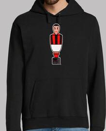 T-shirt Calyllic Rouge Noir et Blanc
