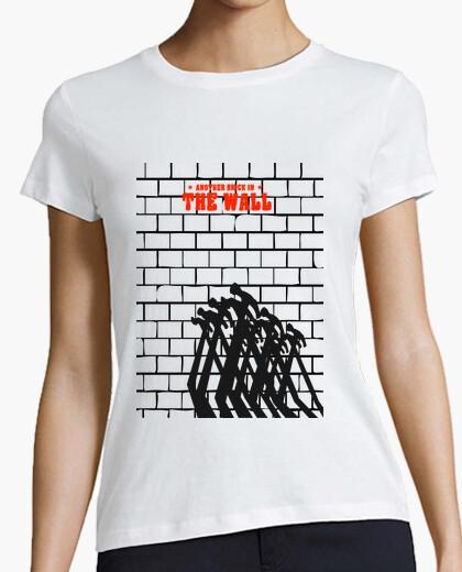T-shirt camicia donna - il muro