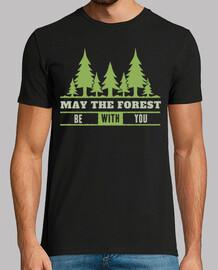t-shirt camp nature camping montagnes rétro vintage