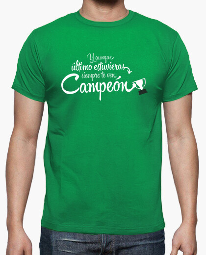 T-shirt campione sempre