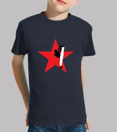 t-shirt capoeira bambino