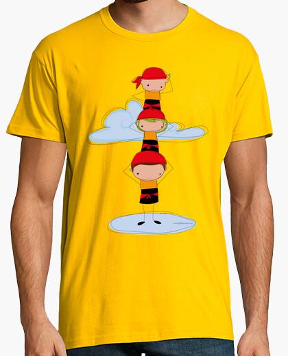 T-shirt castellers arancioni