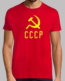 t-shirt cccp falce e martello