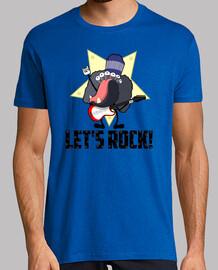 t-shirt cerchiamo di rock!