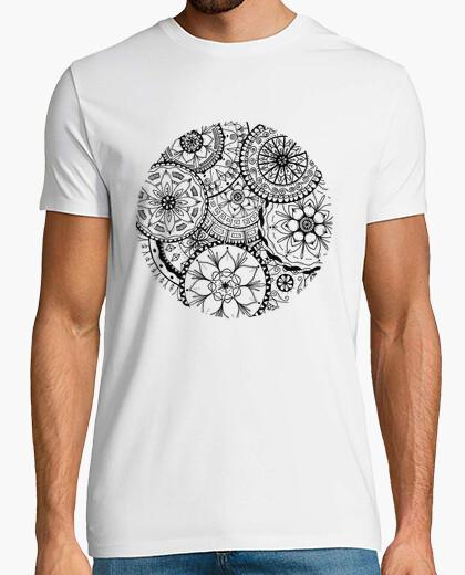 T-shirt cerchio dei mandala, uomo
