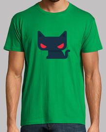 t-shirt chat homme - différentes couleurs et tailles