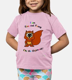 t-shirt chipmunk