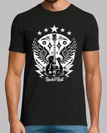t-shirt chitarra rock rockabilly vintage rock n roll rockers bikers