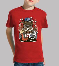 t-shirt chitarre musicali rock cartoni animati