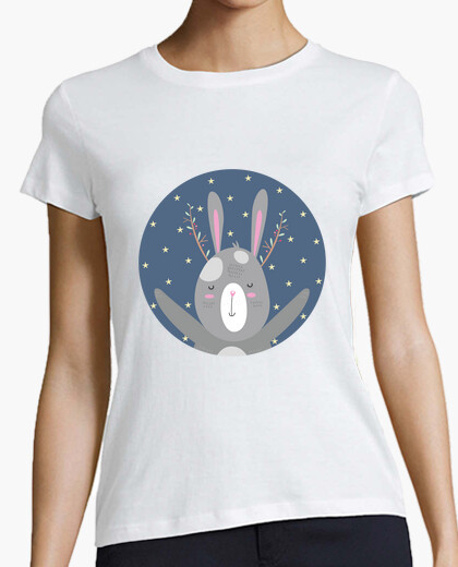 T-shirt Christmas bunny