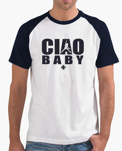 T-shirt ciao bebè blue