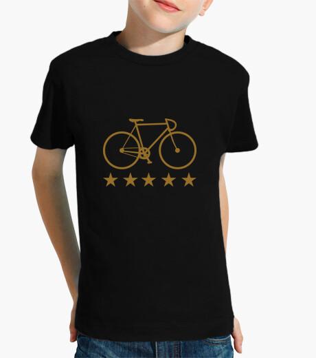 Abbigliamento bambino t-shirt ciclismo - una bici - una bicicletta