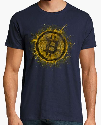 T-shirt circuiti bitcoin