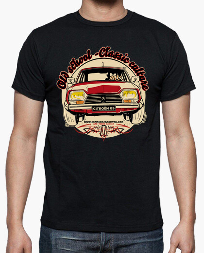 T-shirt citroën gs