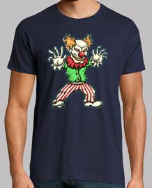 t-shirt clown terror fear horror cinema clown