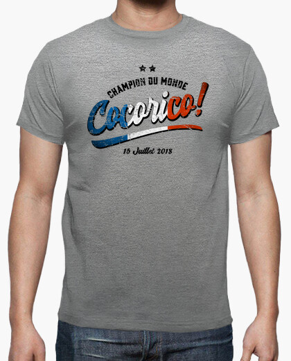 T-shirt cocorico world cup 2018