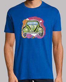 t-shirt coléoptère