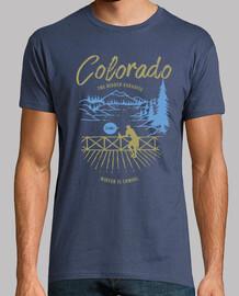 t-shirt colorado mountains avventure