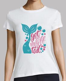 t-shirt compleanno ragazza festa sirena