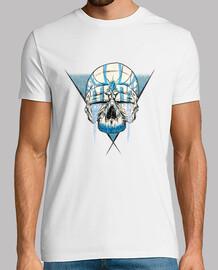 t-shirt con skull zaffiro (maniche corte)
