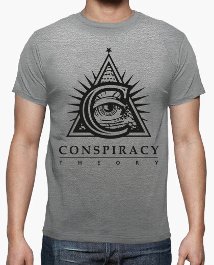 T-shirt Conspiracy Theory Logo BK Official