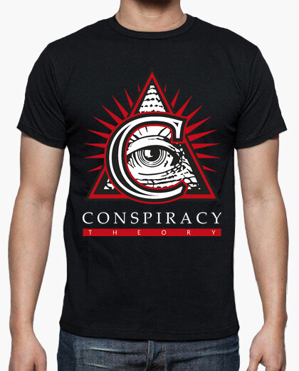 T-shirt Conspiracy Theory Logo Official NEW