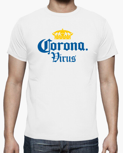 T-shirt corona di virus