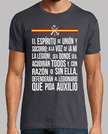 t-shirt creed mod.4 legionario
