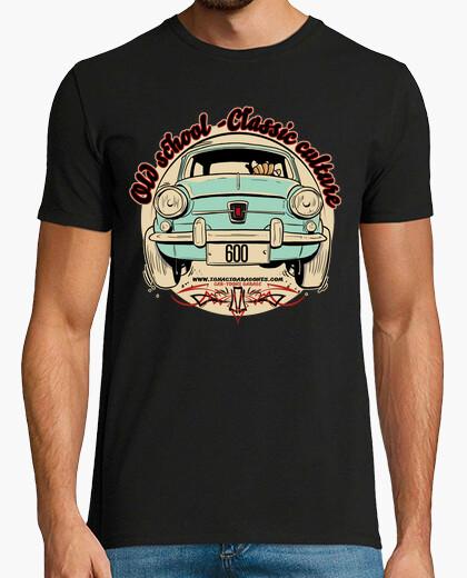 T-shirt cultura old school-classic 600