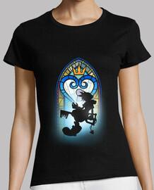 t-shirt cuore con finestra