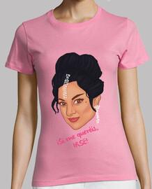 t-shirt da donna - lola fiori - se voglio di andare