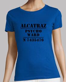 t-shirt da donna alcatraz reparto psico