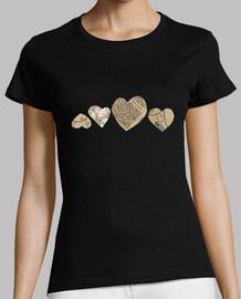 t-shirt da donna amore i mod