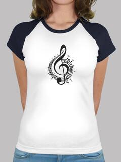 t-shirt da donna clef