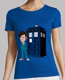 t-shirt da donna decimo dottore (medico)