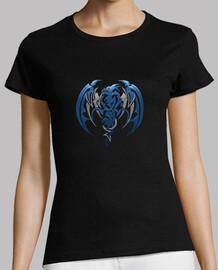 t-shirt da donna dragon tribal