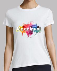 t-shirt da donna è la stessa